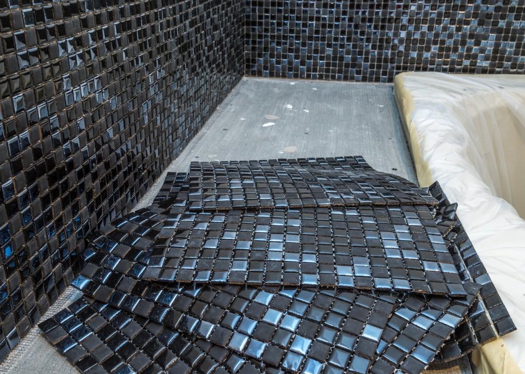 Mozaika na ścianie