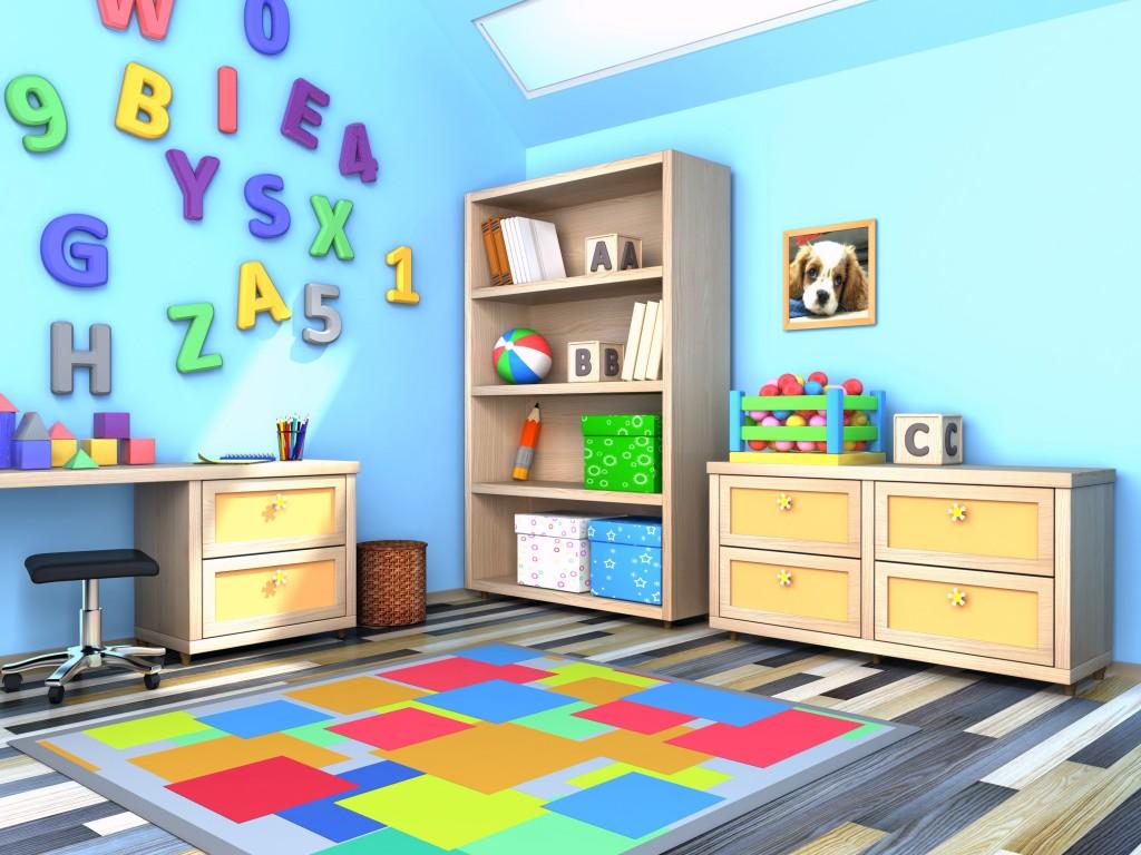 Dekoracje pokoju dla dzieci